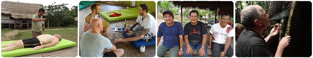 ayahuasca initiation courses led by shipibo curanderos in Peru